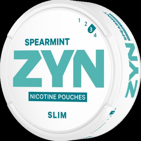 Zyn Spearmint Slim Strong