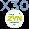 Zyn Citrus Slim Stark Valuepack - 30 Dosen