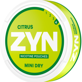 ZYN Citrus Mini Strong