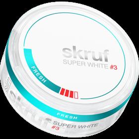 Skruf Super White Fresh Stark #3 Slim Strong