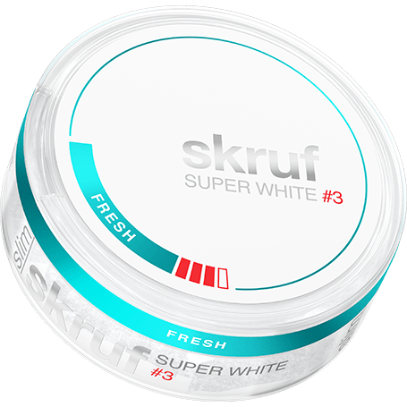 Skruf Super White Fresh Strong