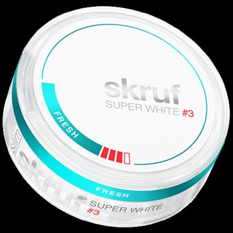 Skruf Super White Fresh Slim Strong