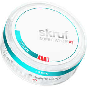 Skruf Super White Fresh #3 Slim Strong