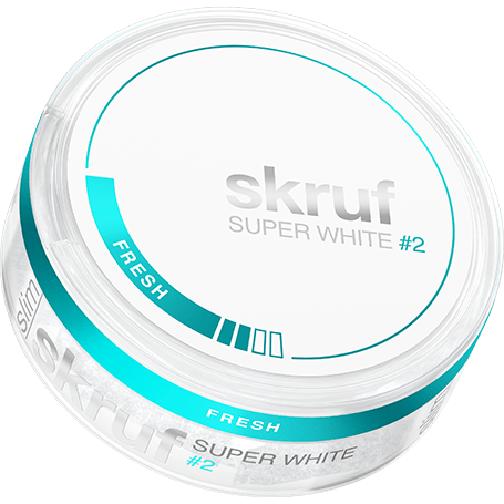 Skruf Super White Fresh