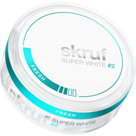 Skruf Super White Fresh #2 Slim Normal