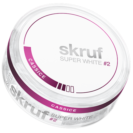 Skruf Super White Cassice Slim Normal