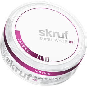 Skruf Super White Cassice #2 Slim Normal