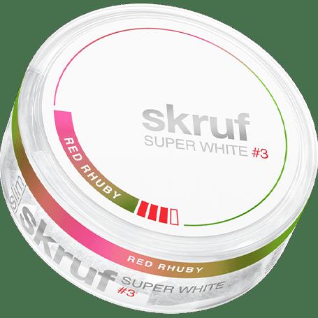 Skruf Super White Red Rhuby