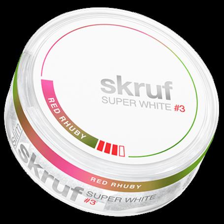 Skruf Super White Red Rhuby Slim Strong