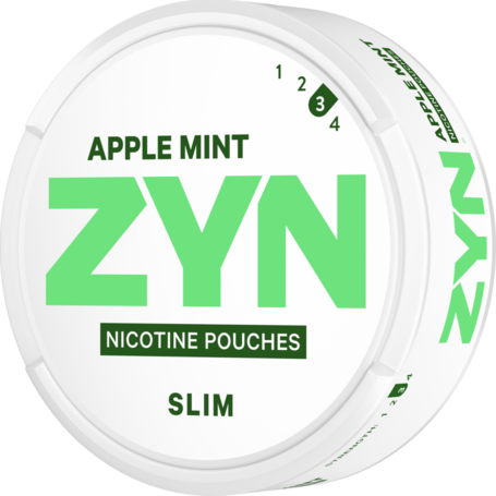 Zyn Apple Mint Slim Strong
