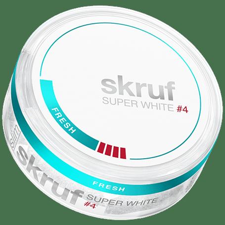 Skruf Super White Slim Fresh #4