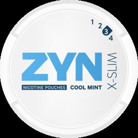 Zyn X-Slim Cool Mint Extra Slim Stark