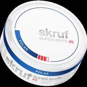 Skruf Super White Slim Polar #3 Slim Strong