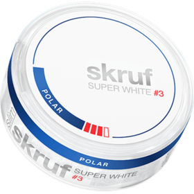 Skruf Super White Polar #3 Slim Strong
