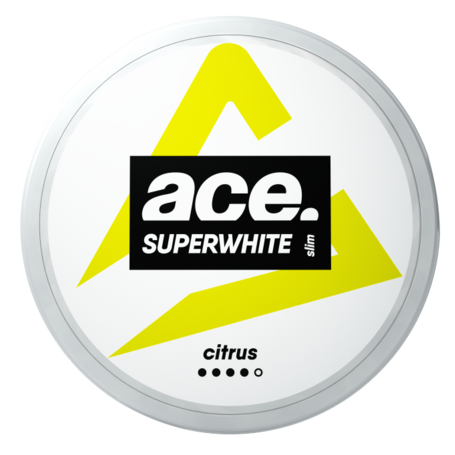 Ace Superwhite Citrus Slim Normal