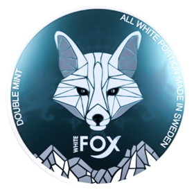 White Fox Double Mint Slim Extra Strong