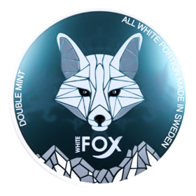 White Fox Double Mint Slim Extra Stark