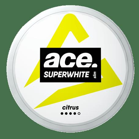 Ace Superwhite Citrus Slim Strong