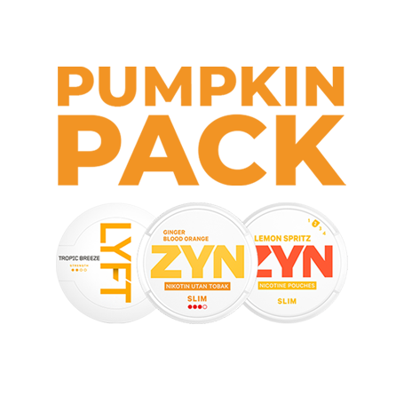Pumpkin Pack All White Nicotine Pouches