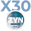Zyn Deep Freeze Slim Extra Strong Valuepack - 30 Cans