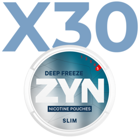 Zyn Deep Freeze Slim Extra Stark Valuepack - 30 Dosen