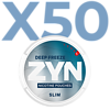 Zyn Deep Freeze Slim Extra Stark Valuepack - 50 Dosen