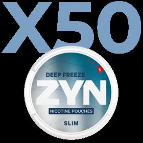 Zyn Deep Freeze Slim Extra Stark Valuepack - 50 Dosen