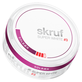 Skruf Super White Blackcurrant #3 Slim Stark