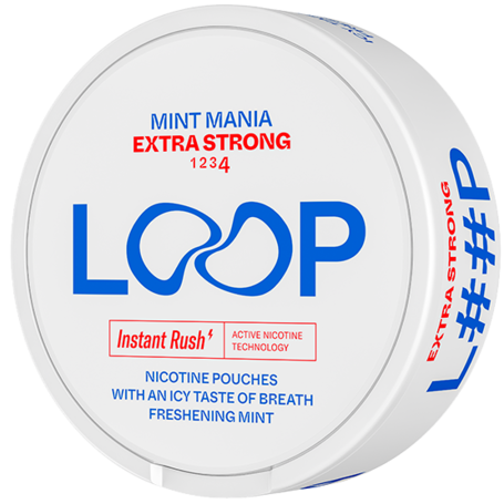 LOOP Mint Mania Slim Extra Strong
