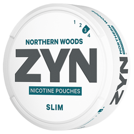 Zyn Northern Woods Slim Strong
