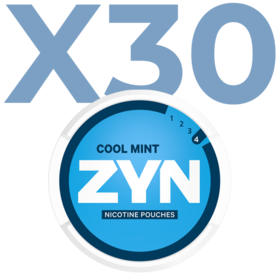 Zyn Cool Mint Mini Normal Valuepack - 30 Cans