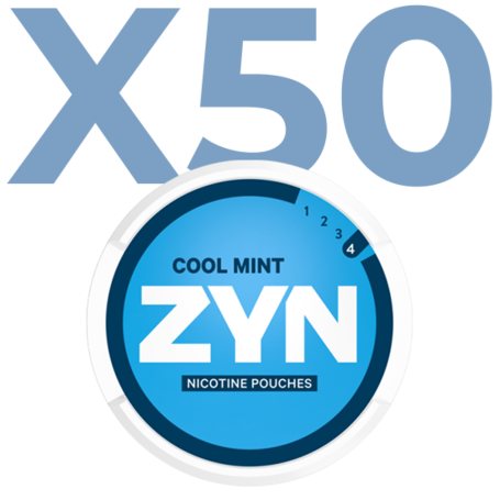 Zyn Cool Mint Mini Normal Valuepack - 50 Cans