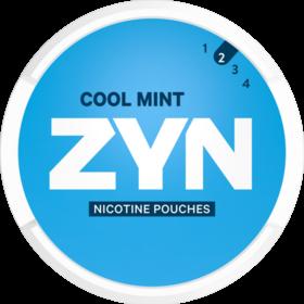 Zyn Cool Mint Mini Less Intense Nicotine Pouches