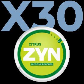 Zyn Citrus Mini Normal Valuepack - 30 Cans