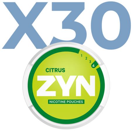 Zyn Citrus Mini Normal Valuepack - 30 Cans