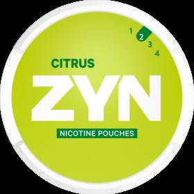Zyn Citrus Mini Less Intense Nicotine Pouches
