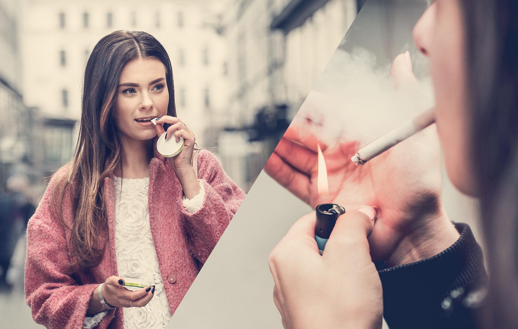 Nicotine and exercise