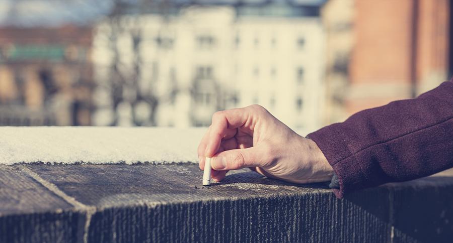 Nikotin in Zigaretten