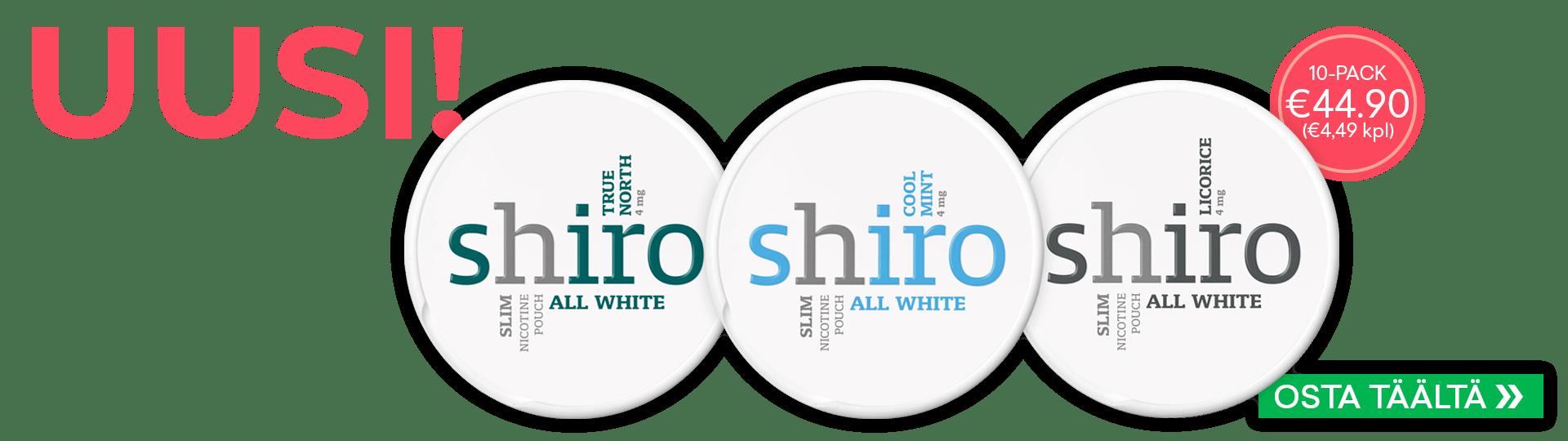 Uusi Shiro!