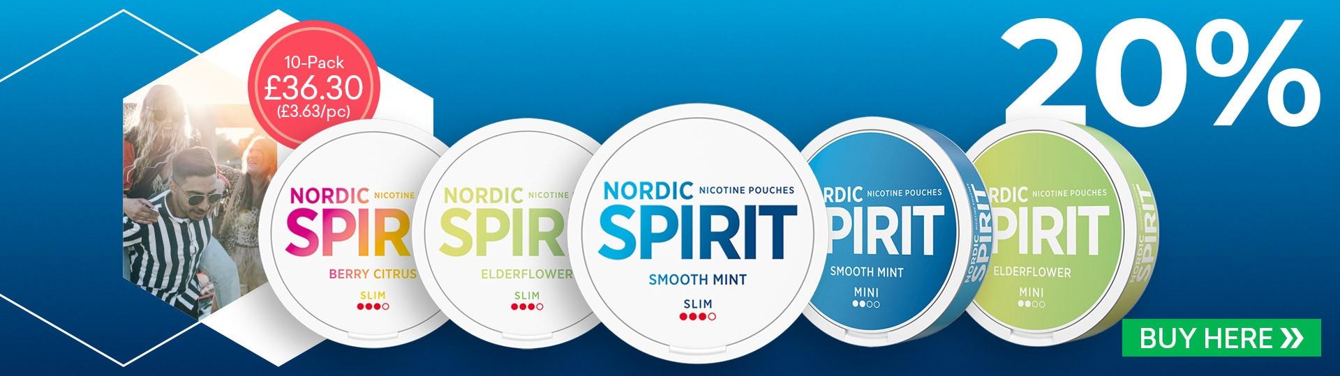 Nordic Spirit 20%