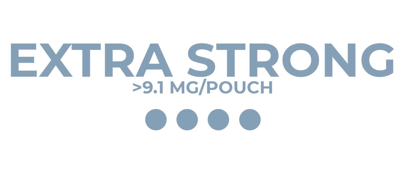 Extra Strong nicotine pouches