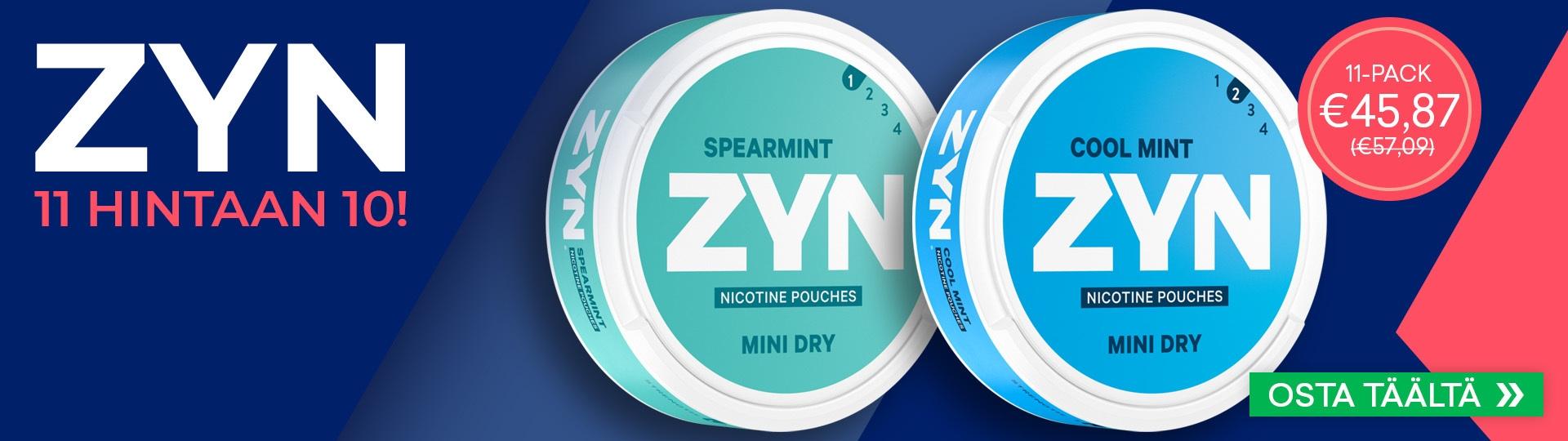 ZYN 11 for 10