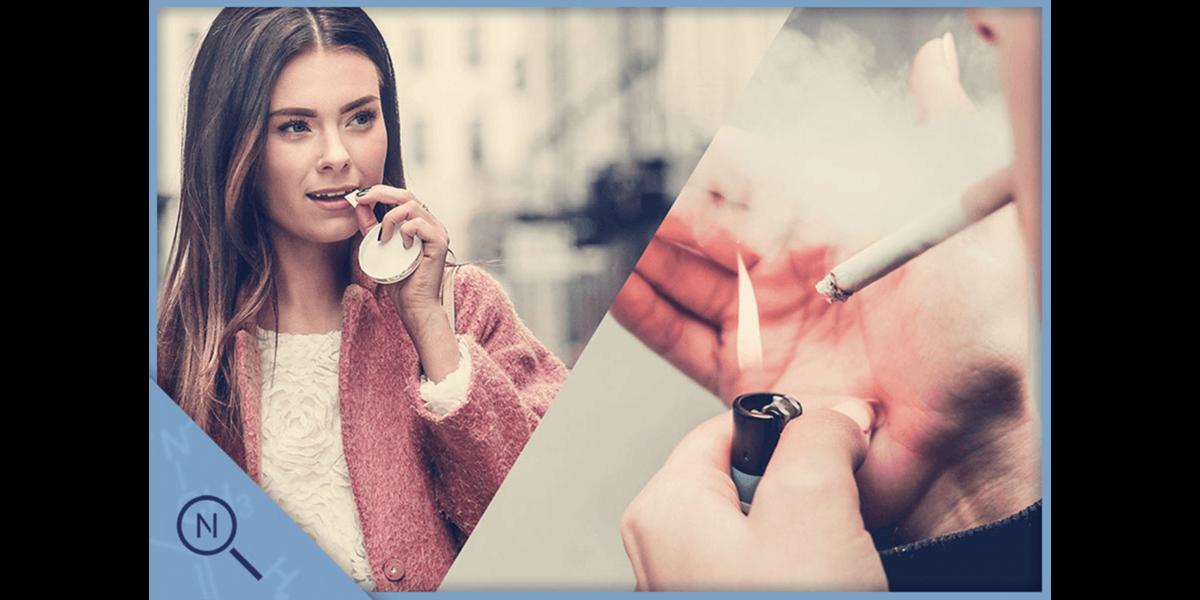 Nikotin und Corona - neue Studie untersucht Verbindung