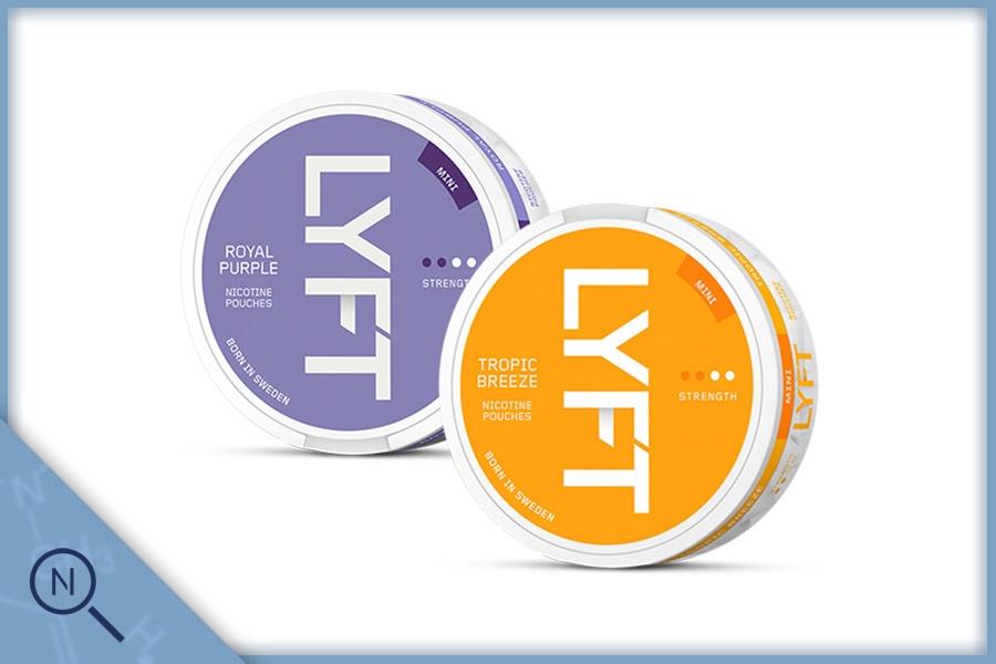 Vad är LYFT nikotinportioner?