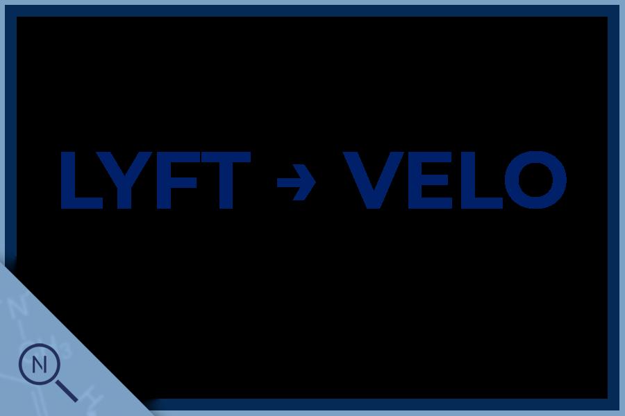 Velo replaces Lyft