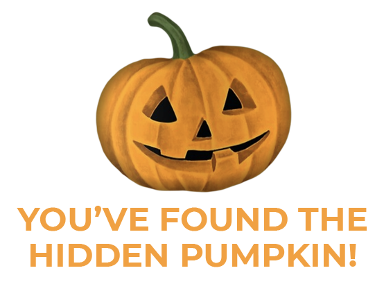 You found the pumpkin!