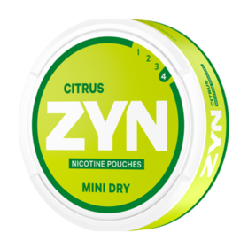 Zyn Citrus Mini Dry Normal