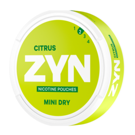 Zyn Citrus Mini Dry Light