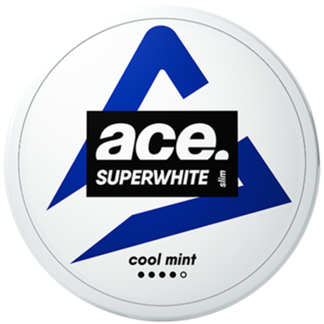 Ace Superwhite Cool Mint Slim Strong