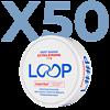 LOOP Mint Mania Slim Extra Stark Valuepack - 50 Dosen